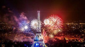 Paris über Silvester